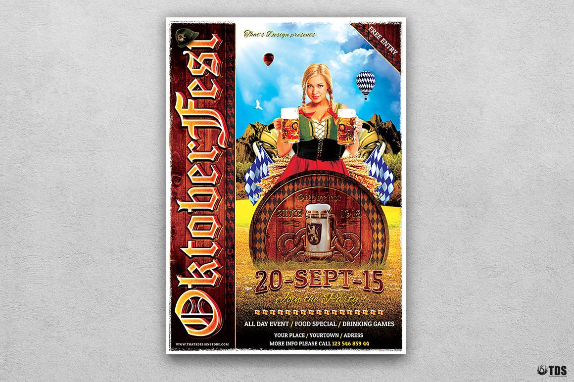 Oktoberfest Flyer Template V3 example image 1