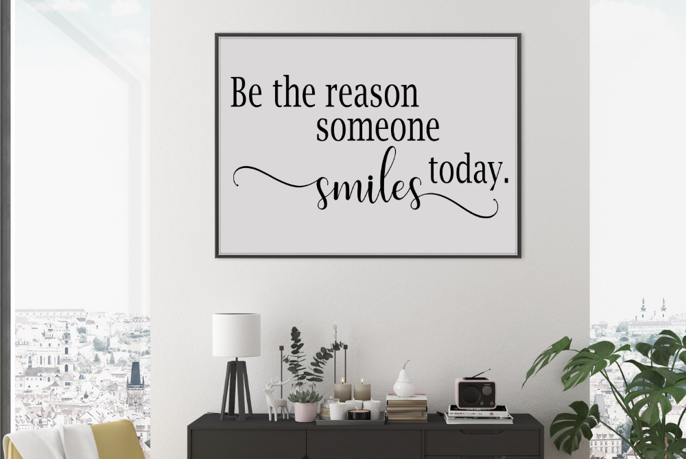 Be the reason someone smiles today svg, Be kind svg Kindness example image 2