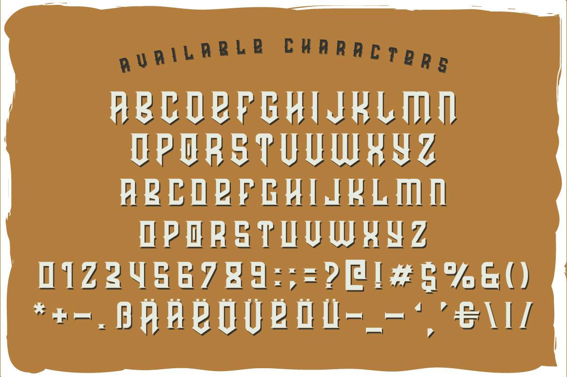 Prohibited typeface example image 4