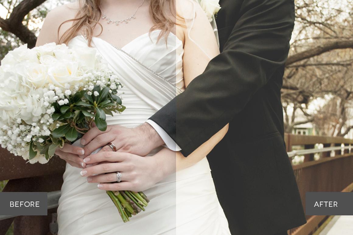Weddingful Photoshop Actions example image 6