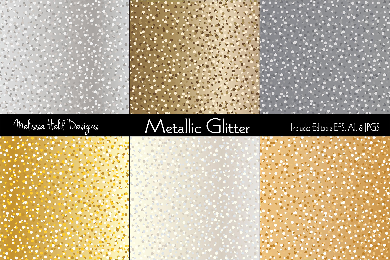 Metallic Glitter example image 1