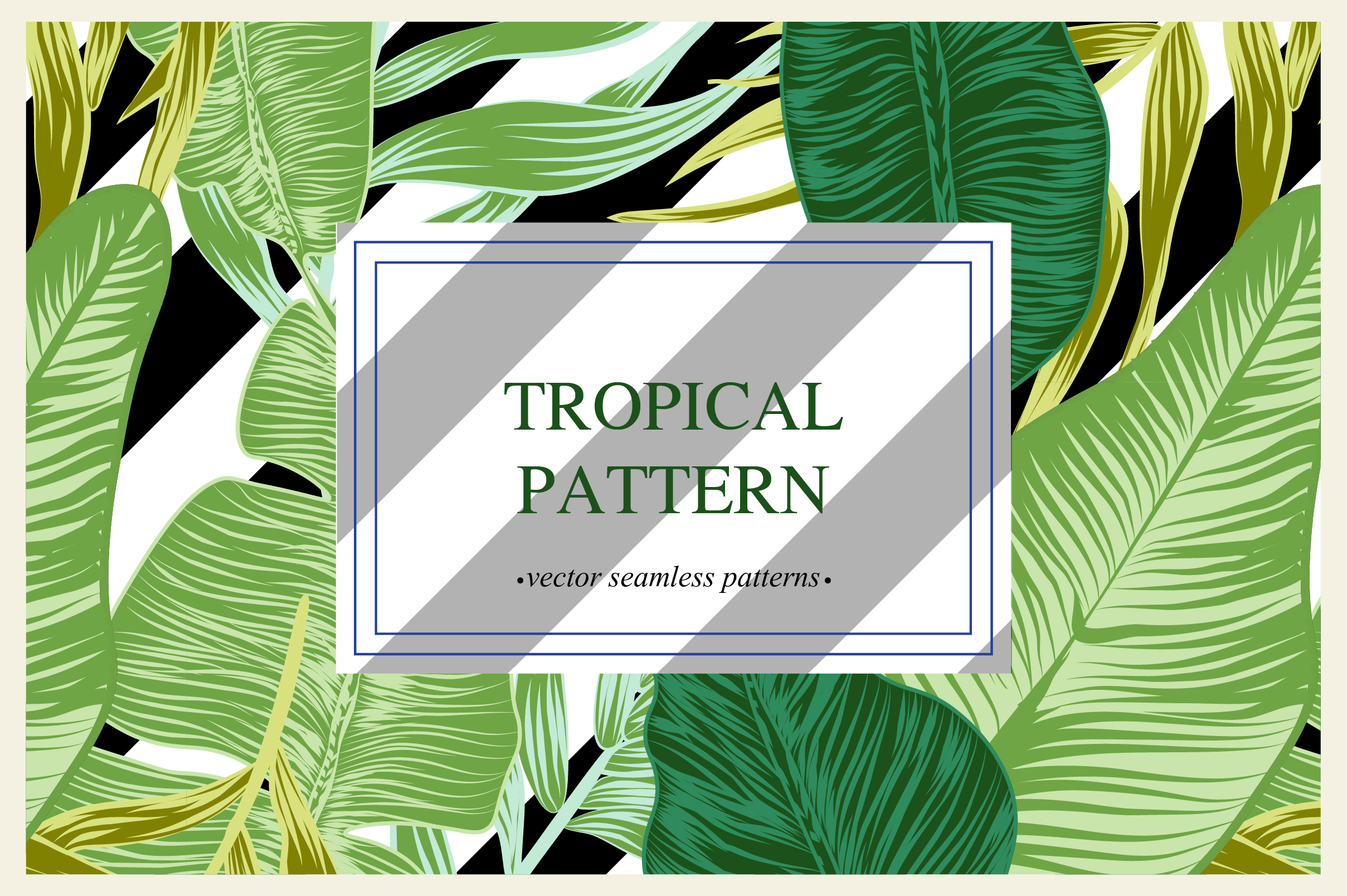 Tropical pattern example image 10