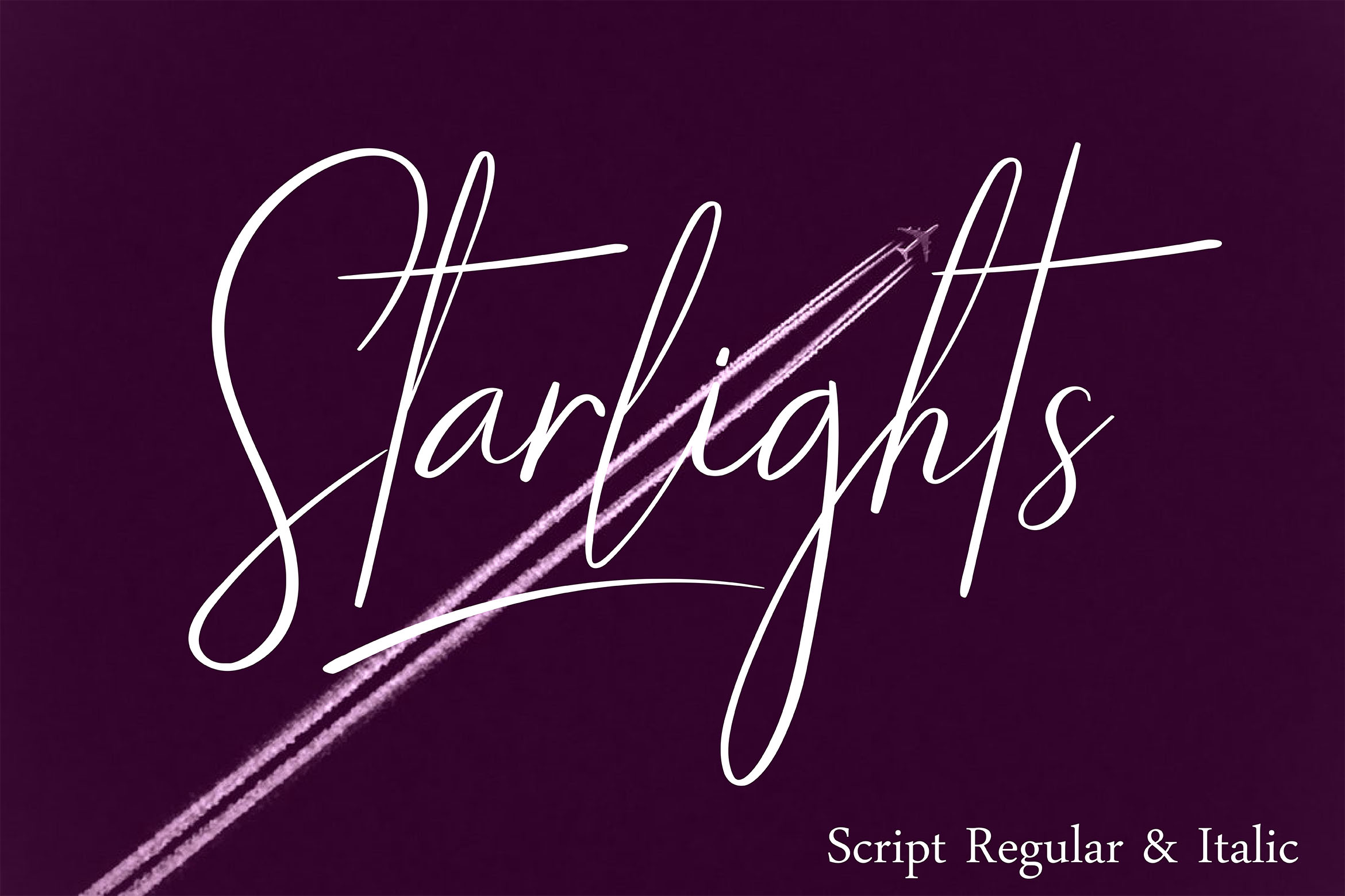 STARLIGHTS | A Classy Script example image 2
