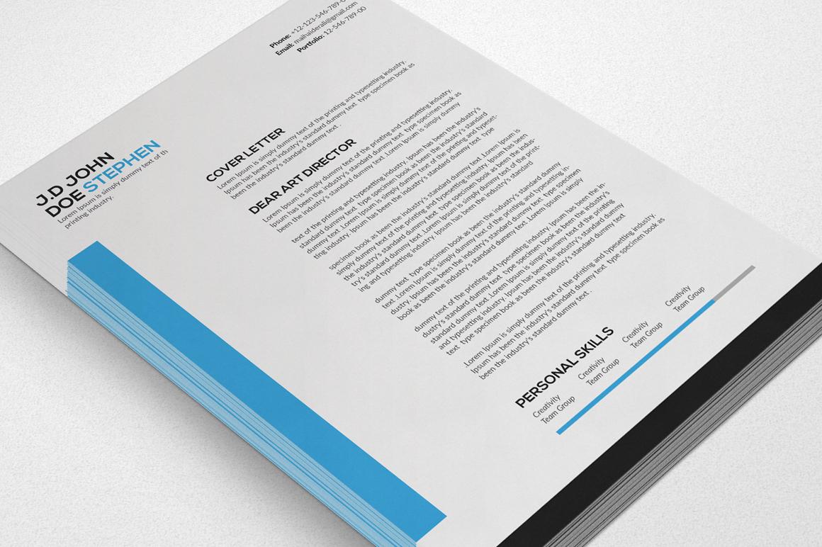 Clean Resume/CV  example image 4