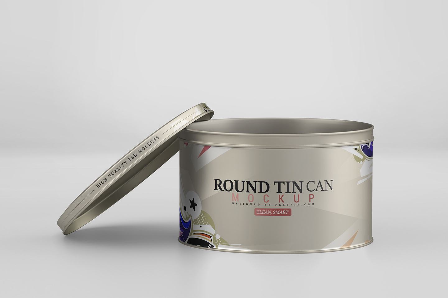 Round Tin Can Mockup example image 9