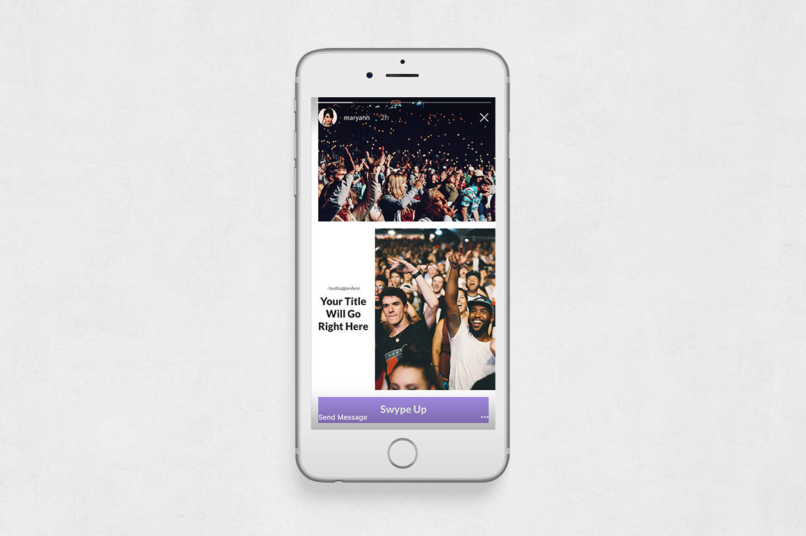 Party Animated Instagram Stories example image 6