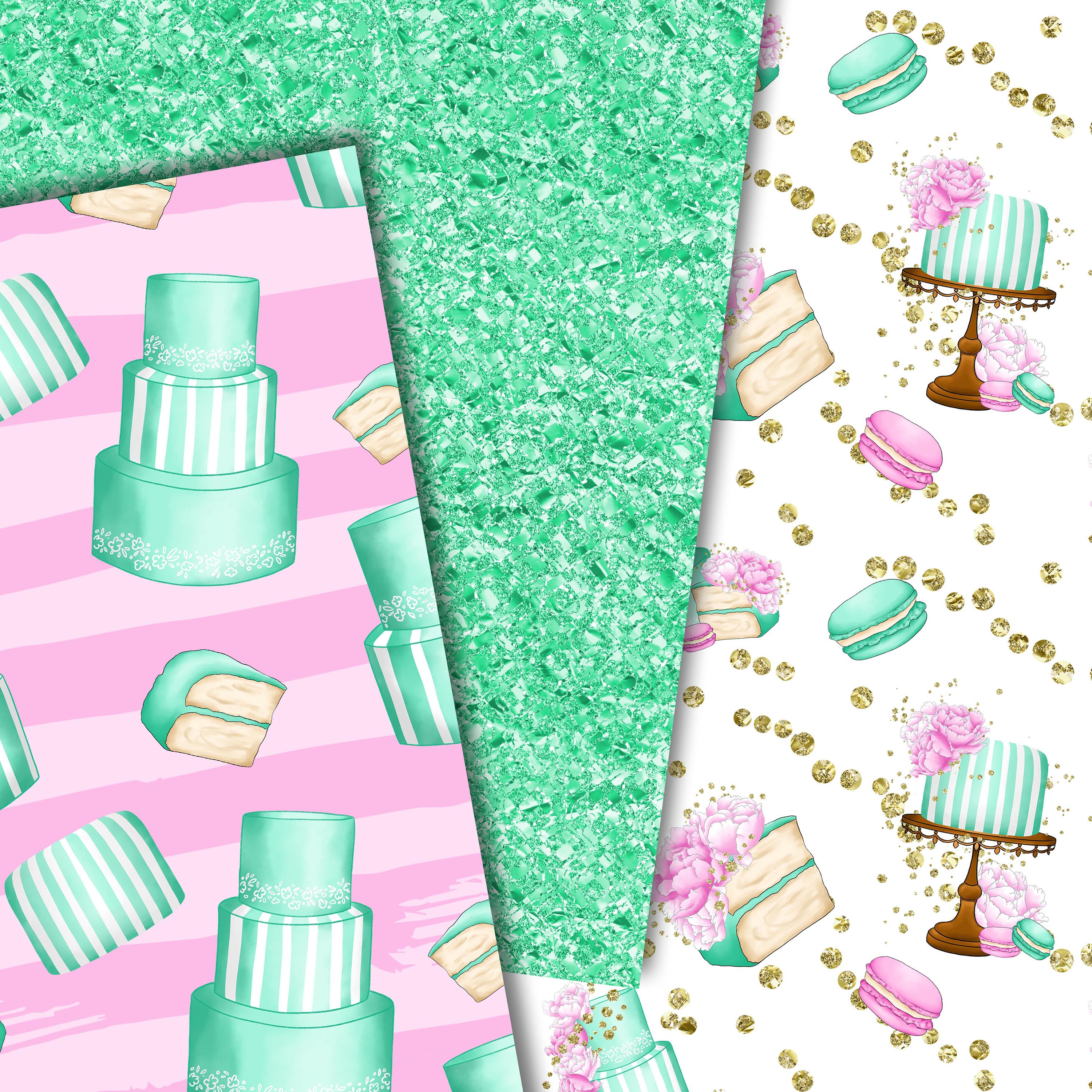Sweet cakes patterns example image 4