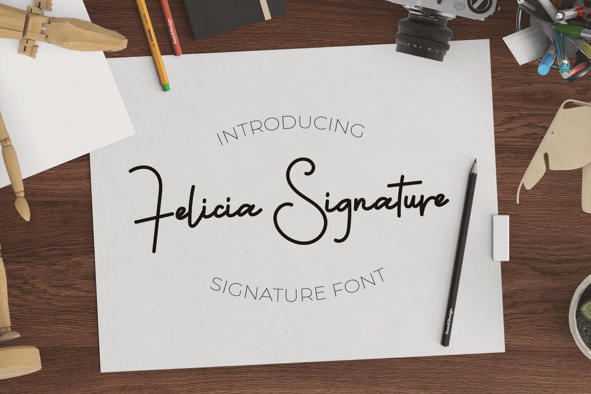Felicia Signature example image 1
