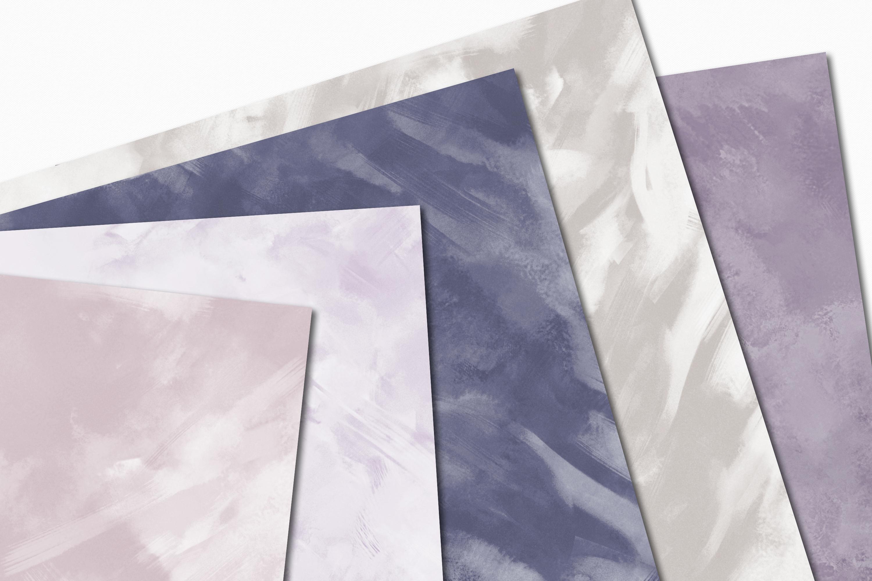 Pastel Painterly Textures - 15 Brushstroke Backgrounds example image 6