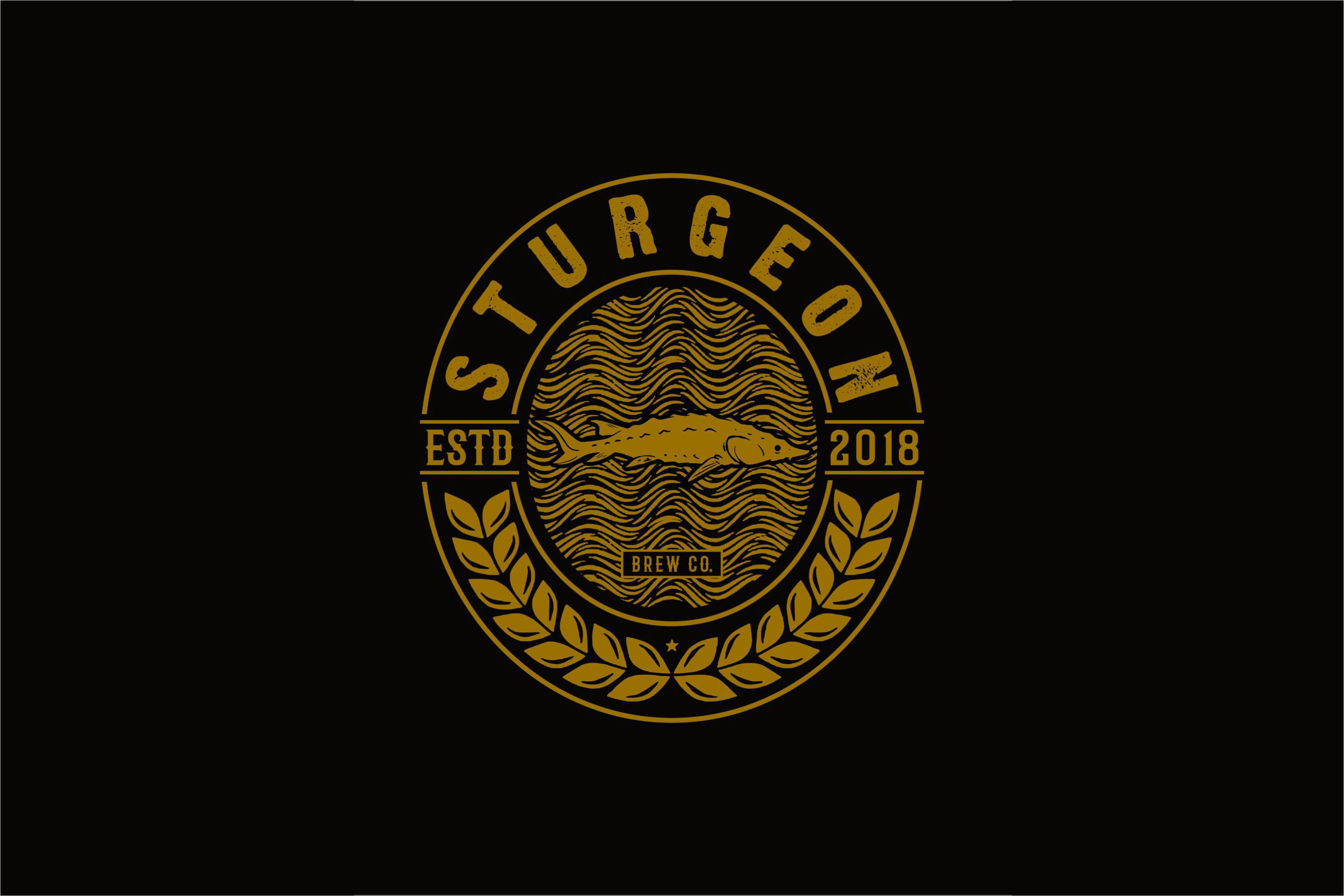 Sturgeon Vintage Logo Pack example image 6