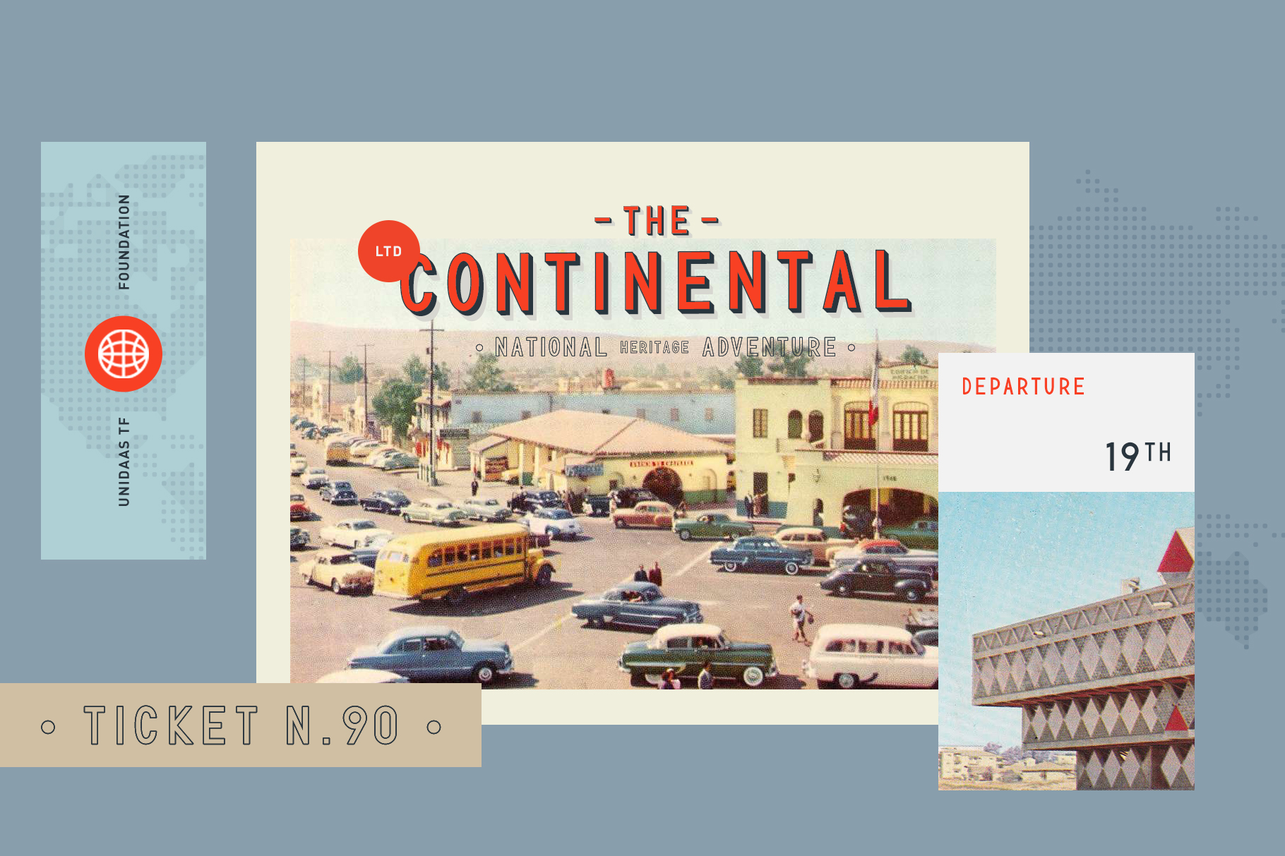 Intro Sale 90% OFF - TF Continental  example image 2
