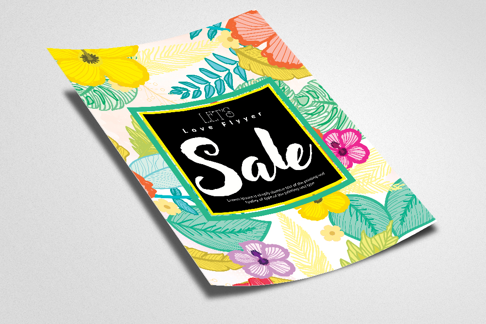 Sale Typography Poster/ Flyer example image 2