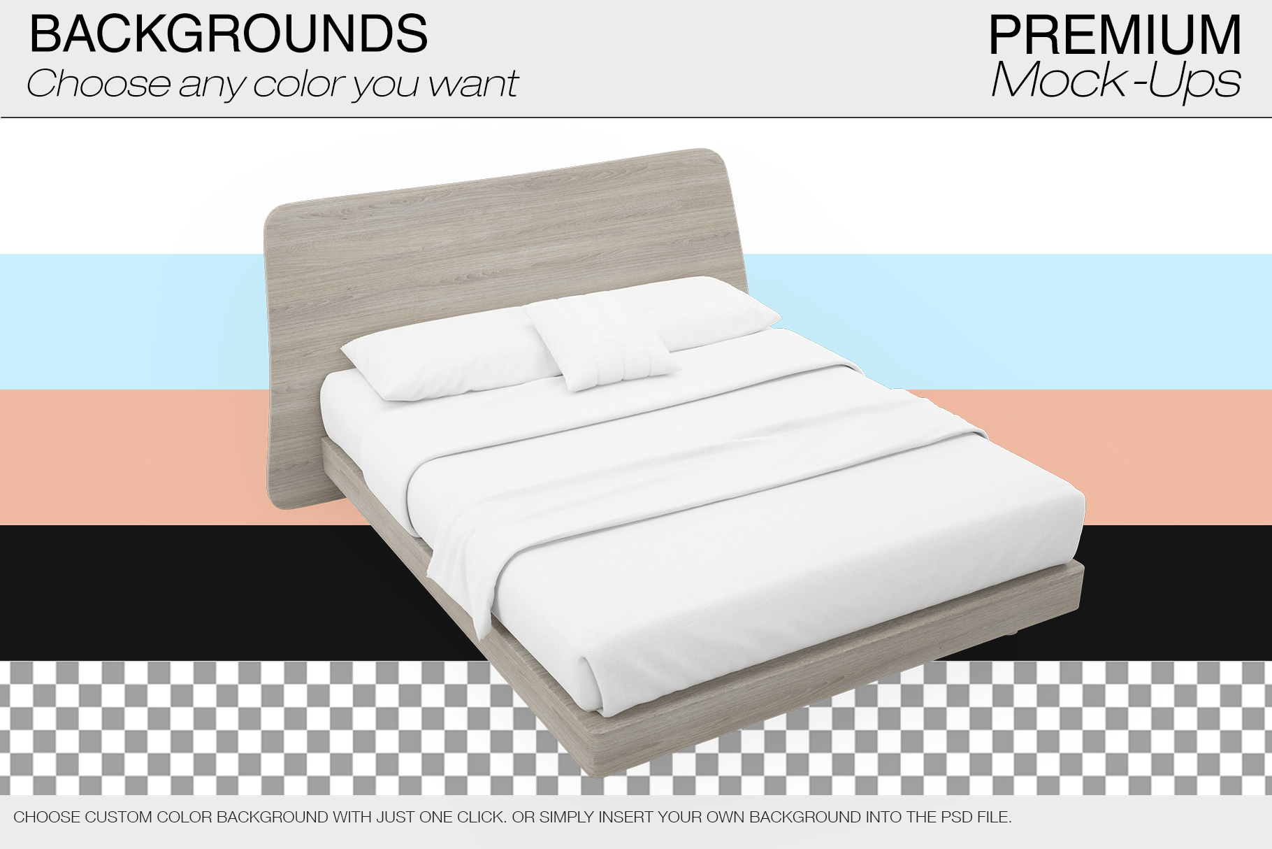 Bedding Mockup Set example image 8