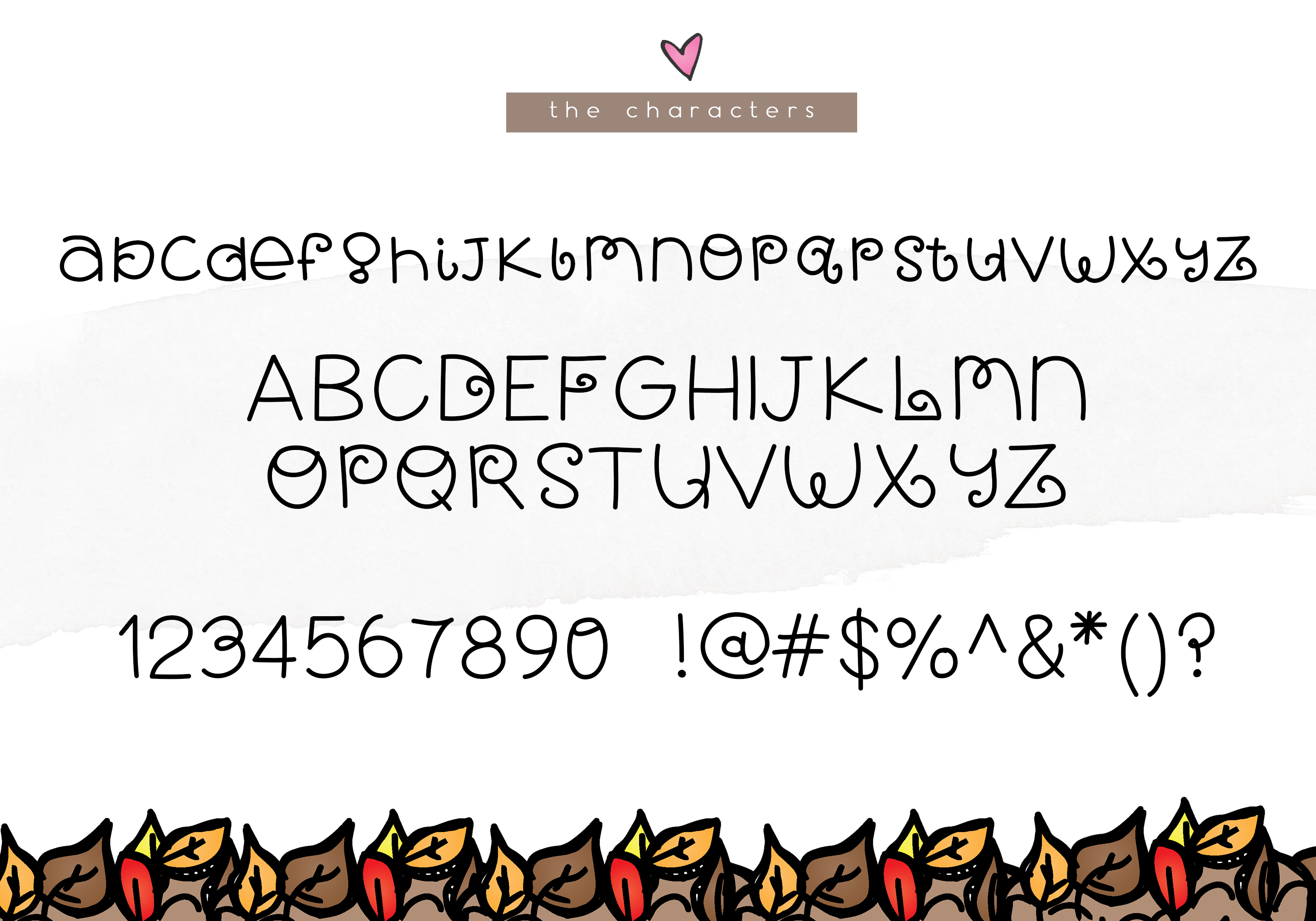 Fall Breeze - A Fun Handwritten Font example image 6