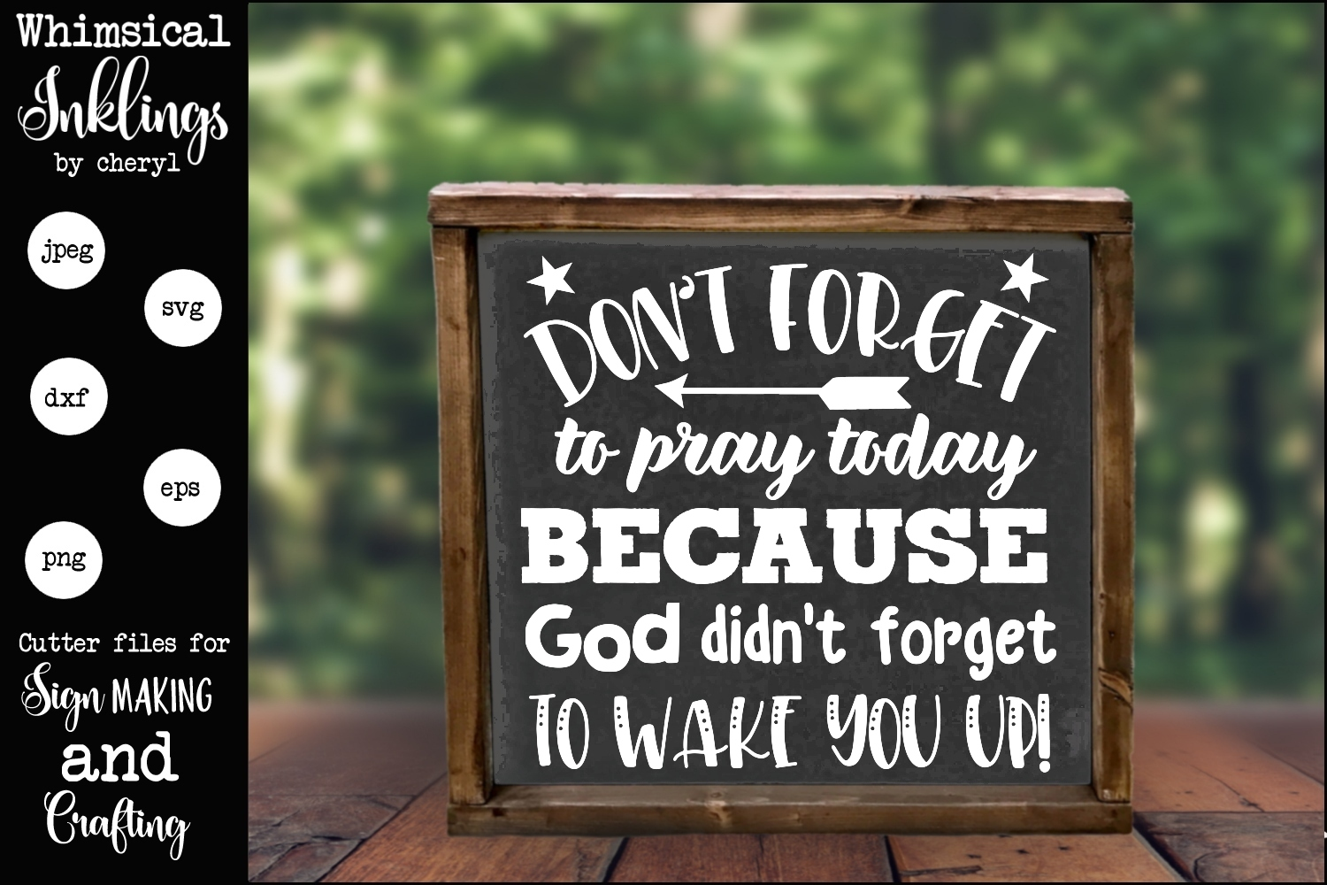 Don't Forget To Pray SVG example image 1