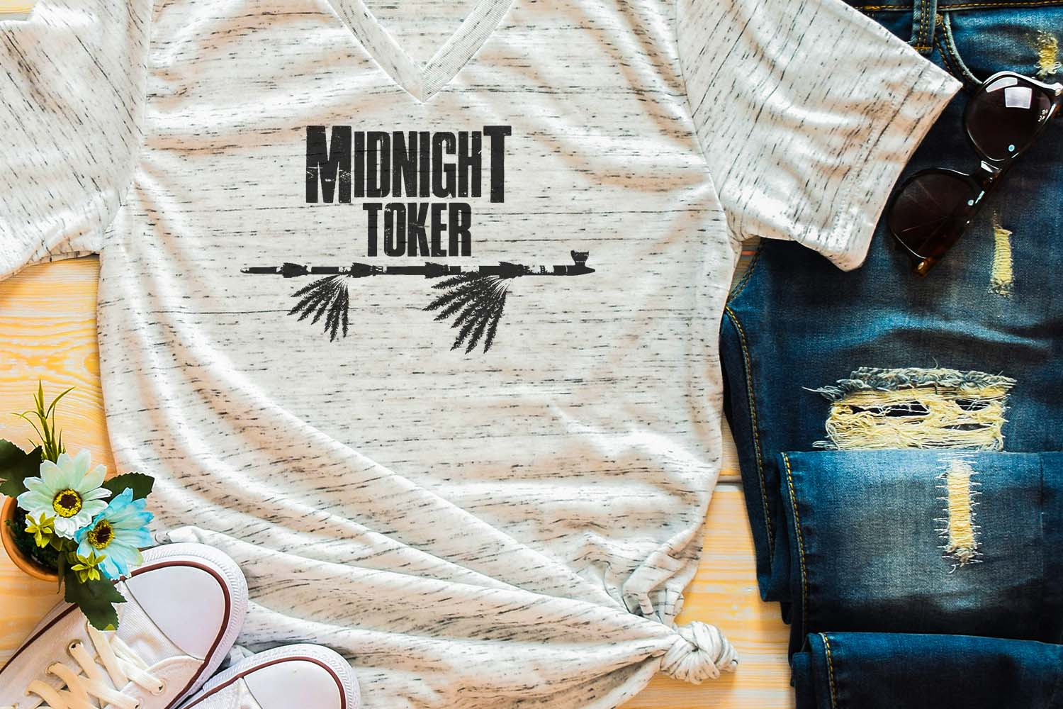 Midnight Toker Sublimation Digital Download example image 1