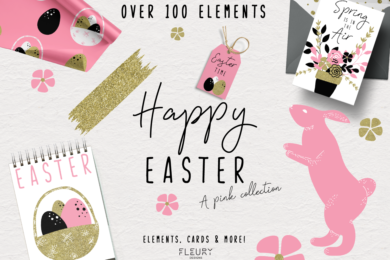 Happy Easter - a pink collection example image 1