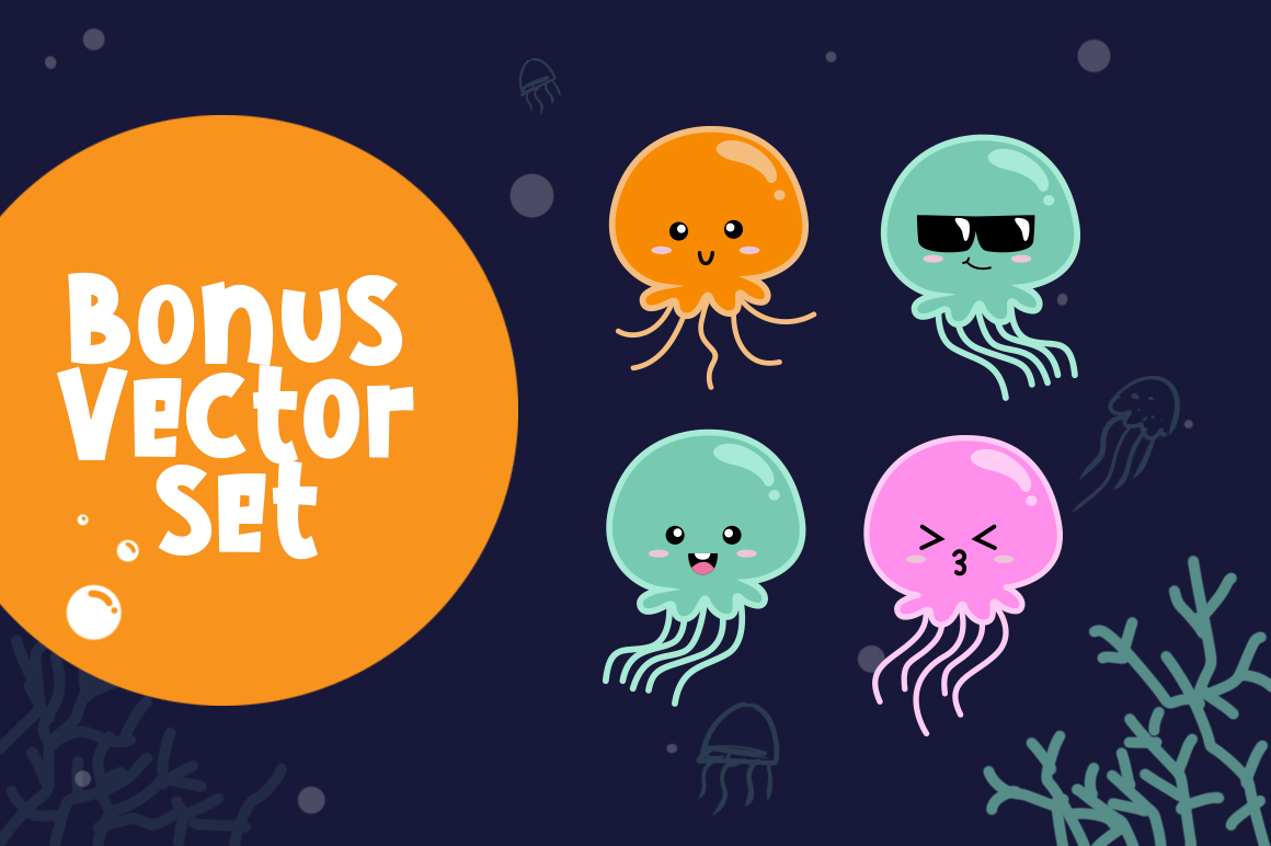 Cute Jellyfish example image 6