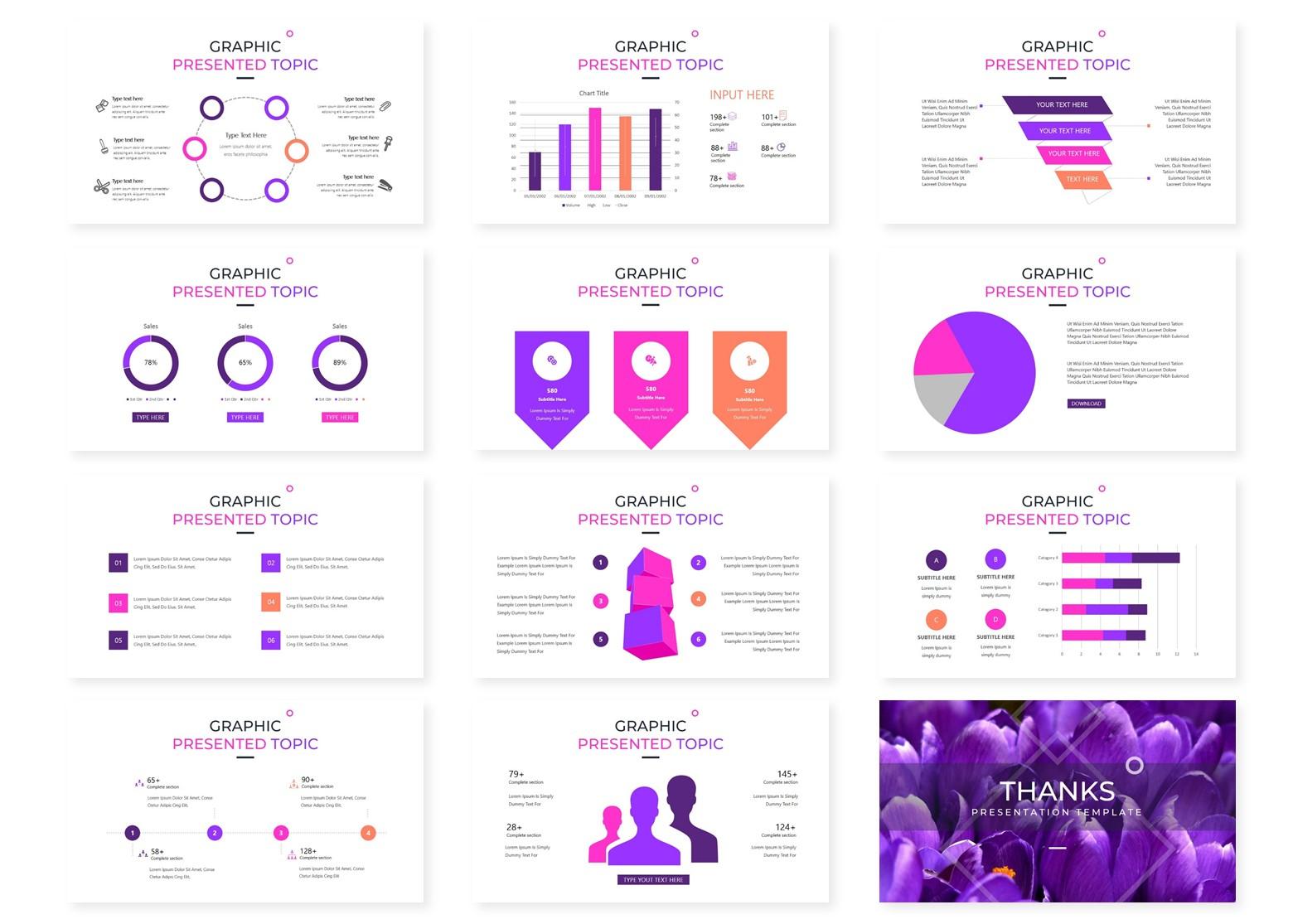 Purpose | Powerpoint, Keynote, GoogleSlides Template example image 6