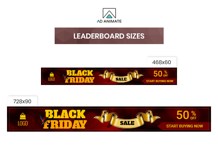 Black Friday Sale Animated Ad Banner Template example image 4