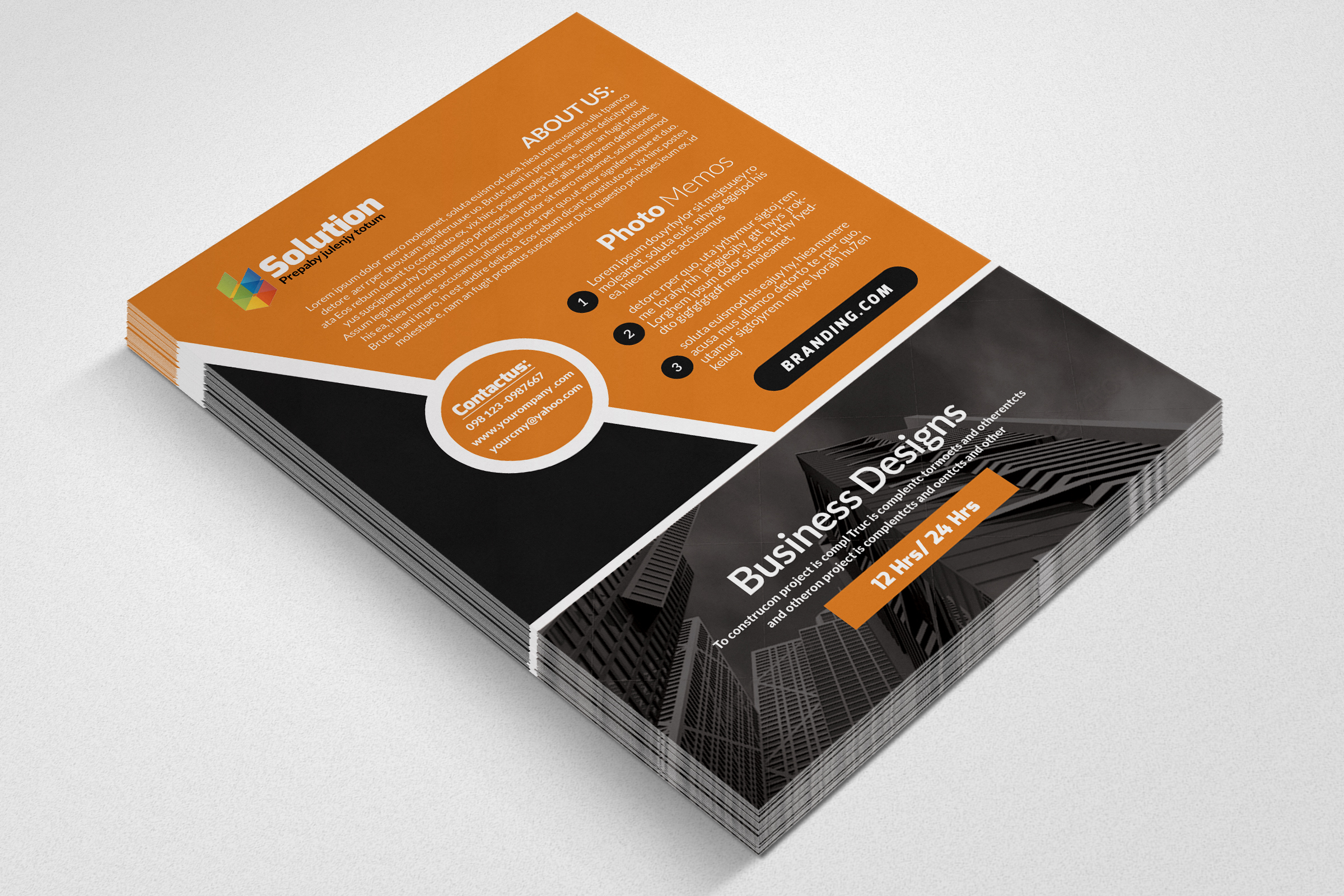 Small Business Consultant Flyer example image 2