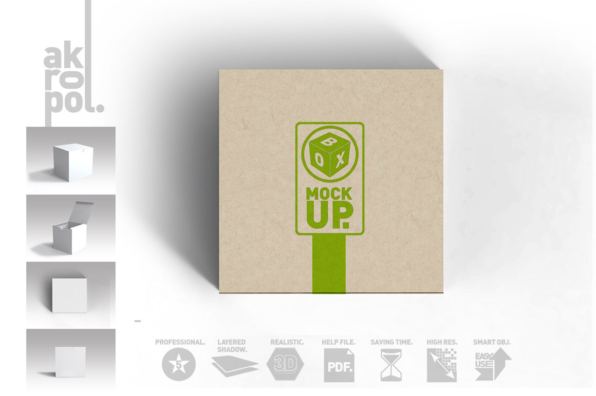 Package Box Mockups example image 6
