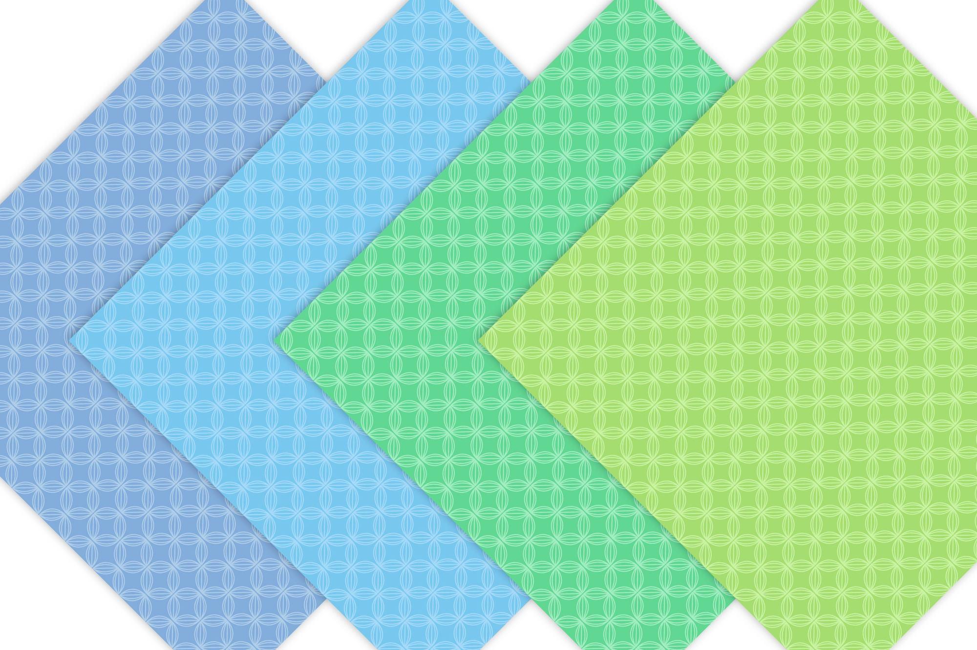 Pastel Geometric Digital Paper example image 3