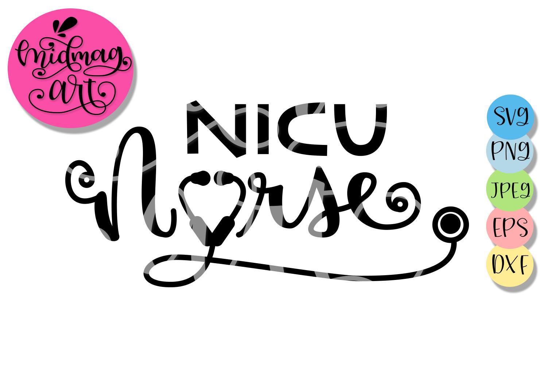 Nicu Nurse svg, Nurse svg example image 2
