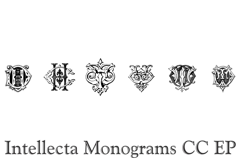 Intellecta Monograms CC EP example image 6