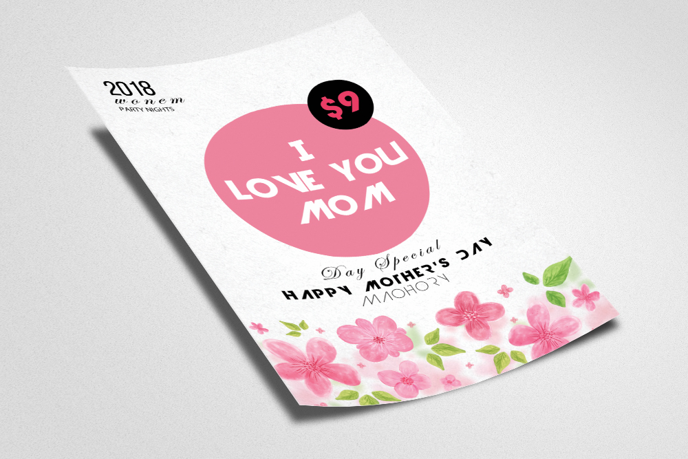 Mother's Day Flyer example image 2