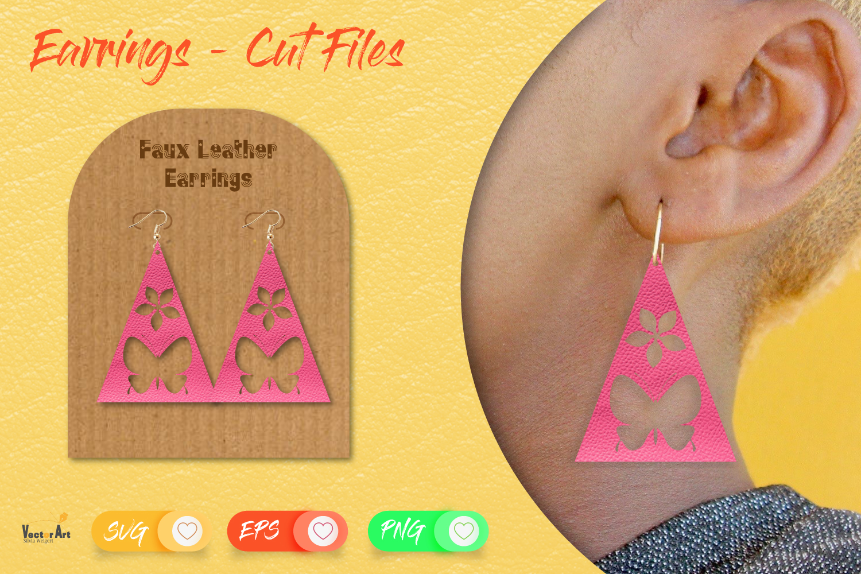 5 Earrings - Mini Bundle - Cut files example image 5
