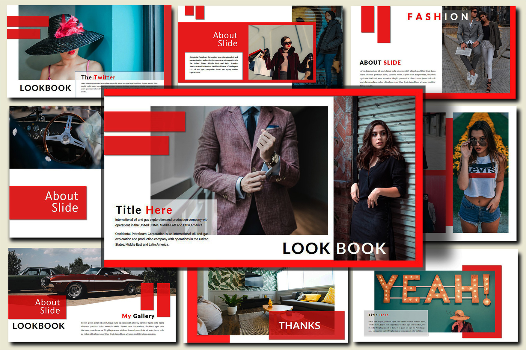The Twitter Lookbook - Powerpoint example image 5