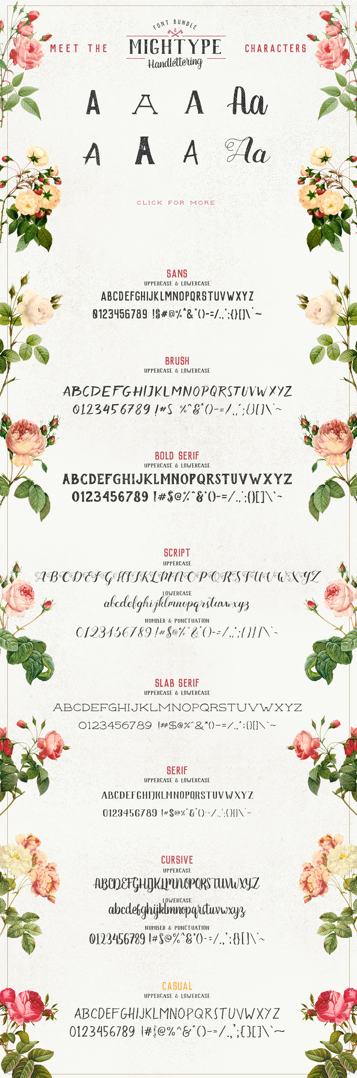 Mightype Handlettering Font Pack example image 4