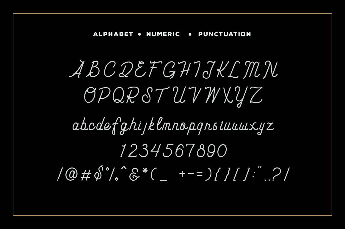 Carimba - Monoline Script example image 2