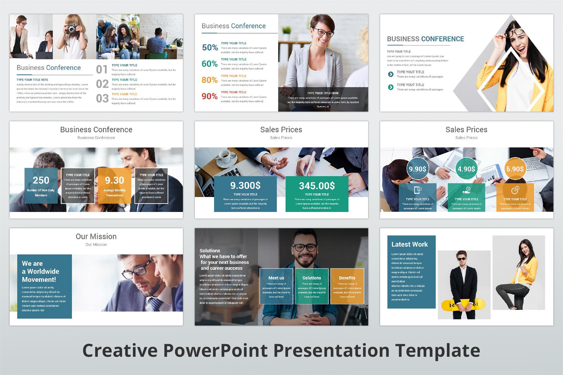 Creative multipurpose PowerPoint Presentation Template example image 9