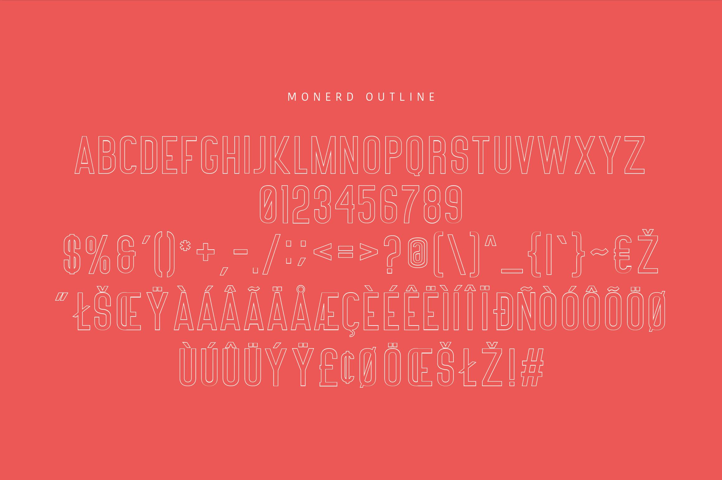 Monerd - Simply Sans Serif example image 13