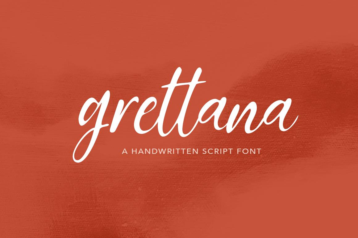 Grettana Script example image 1