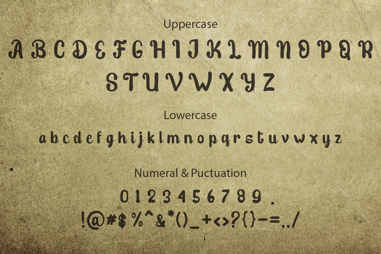 Stibold Typeface example image 10