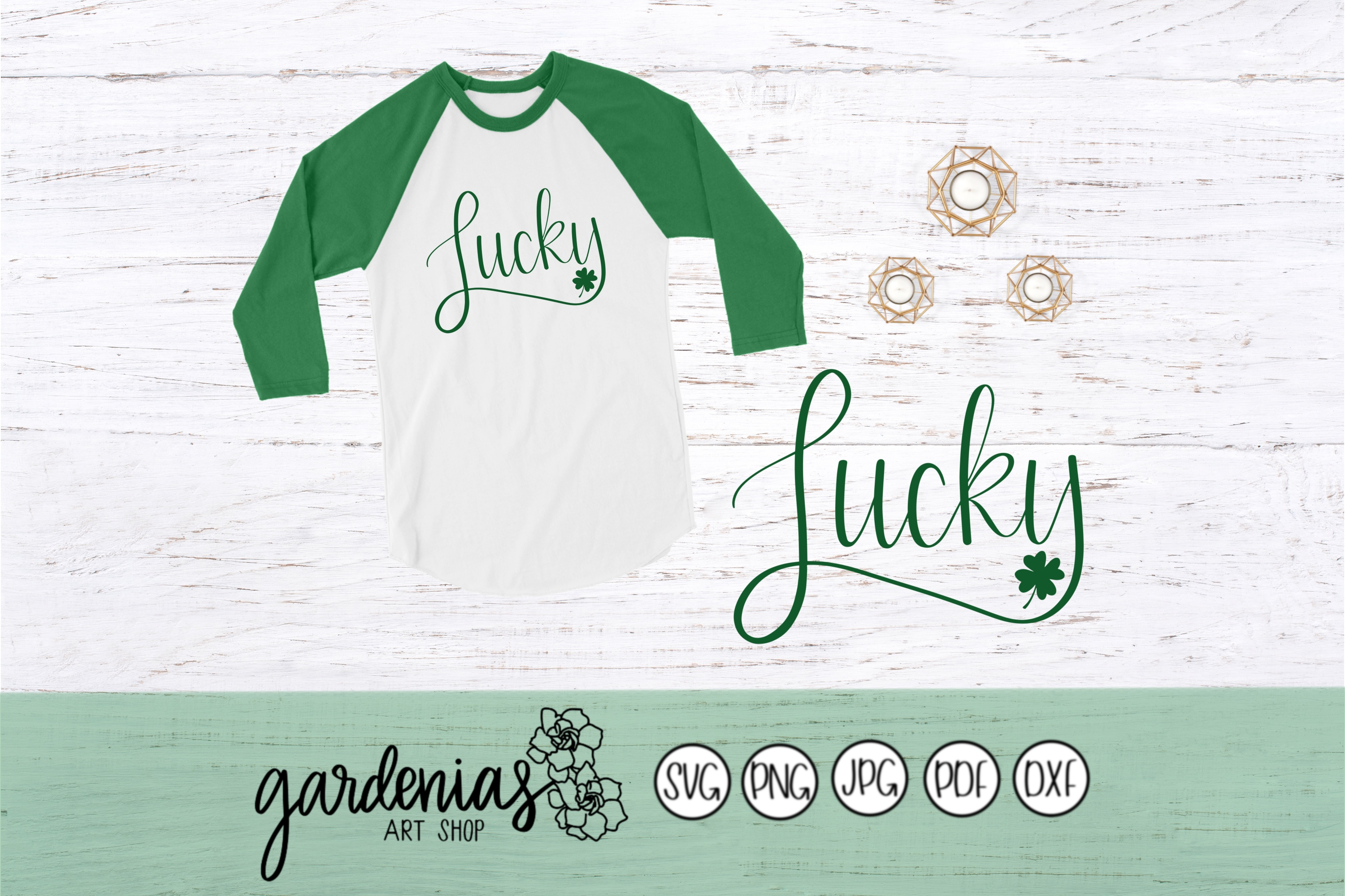 Lucky with Shamrock example image 1