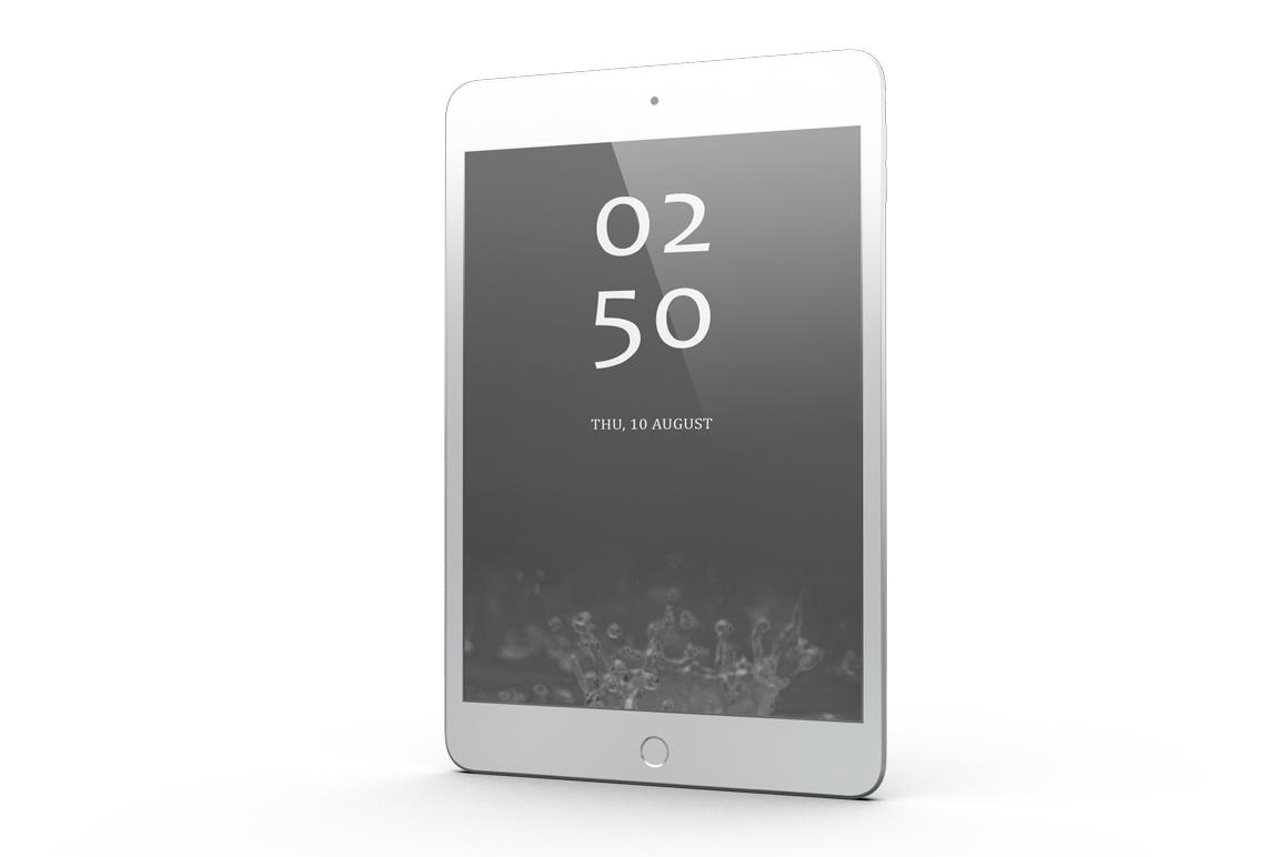 iPad Mini 4 Mock-up example image 7