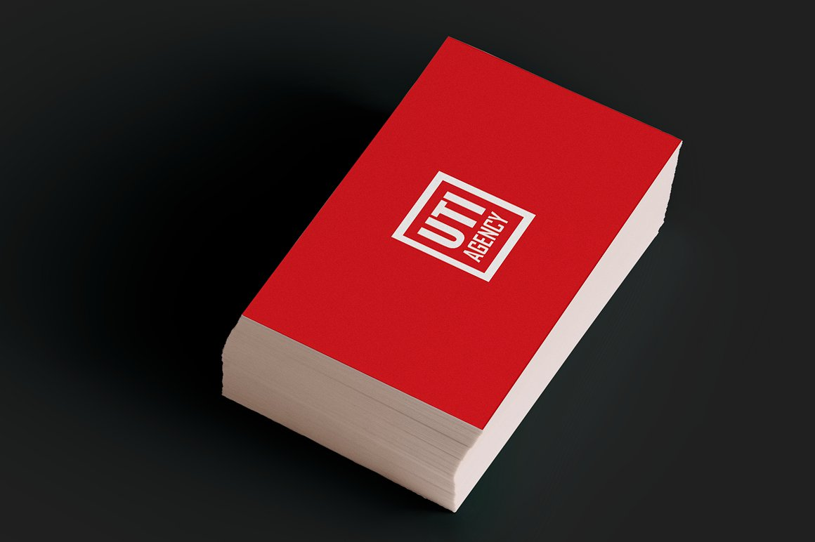 Red Corporate Business Card example image 3