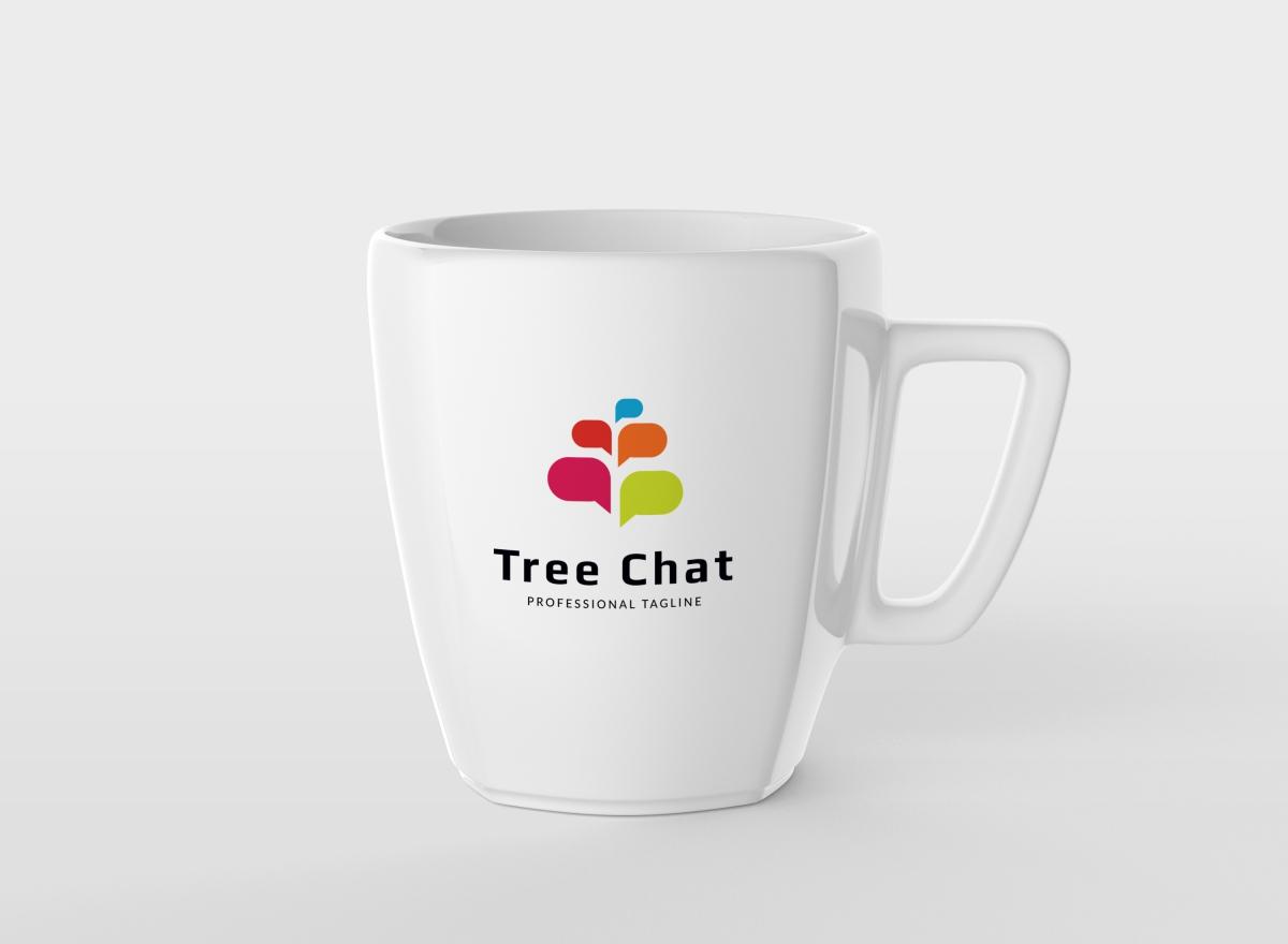 Tree Chat Logo example image 4
