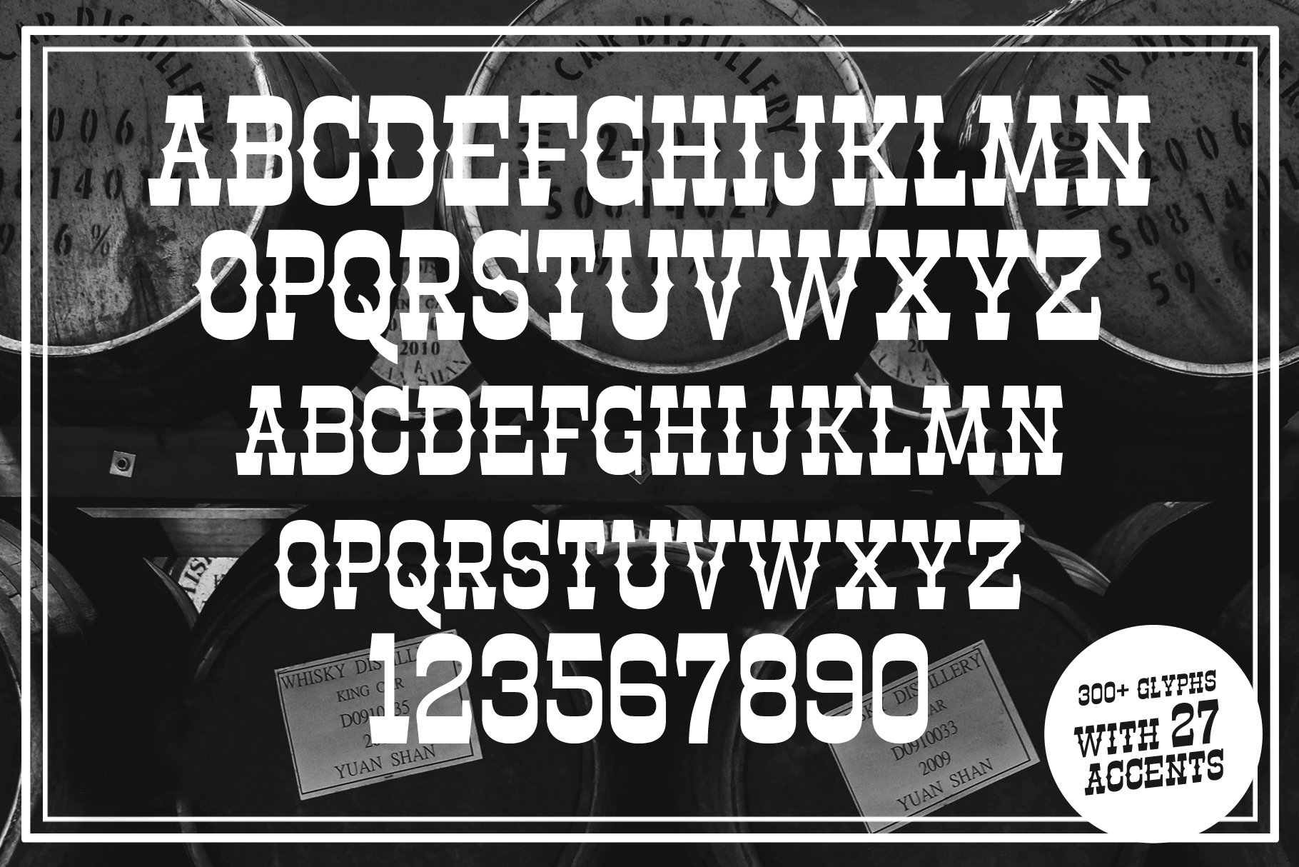 Masterson Font Family example image 7