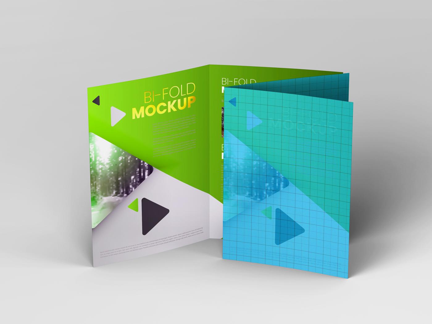 A4 Bifold Mockups V3 example image 14