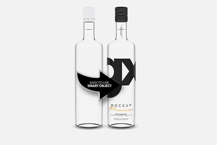Beverage - Translucent Bottle example image 3