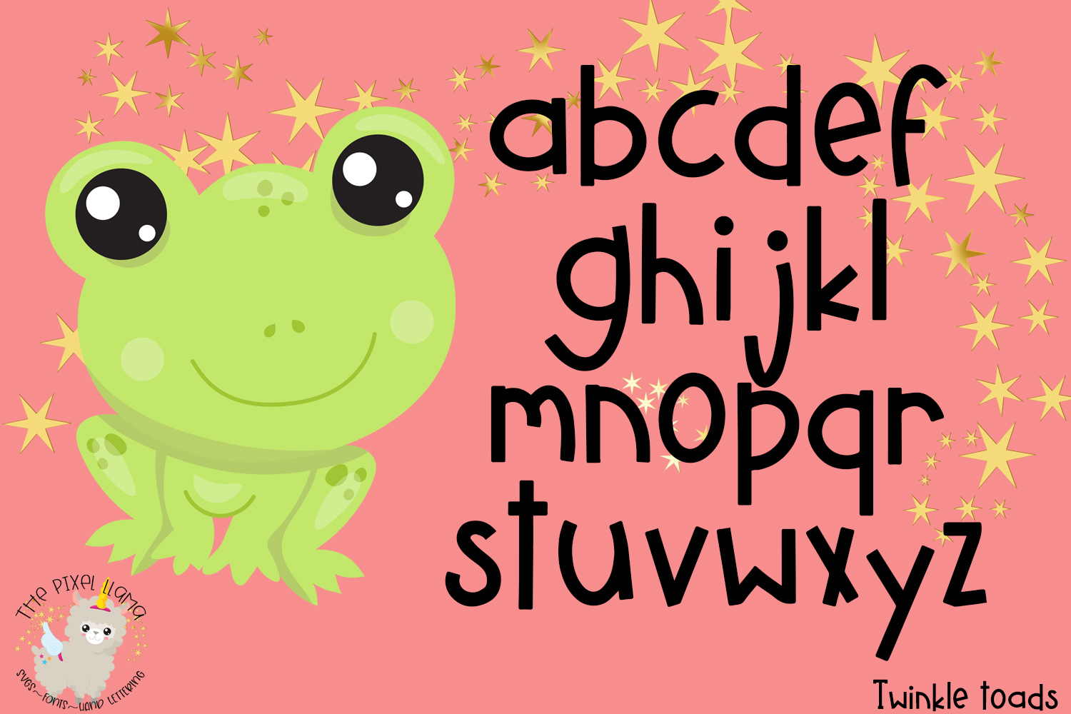 Twinkle Toads Font example image 3