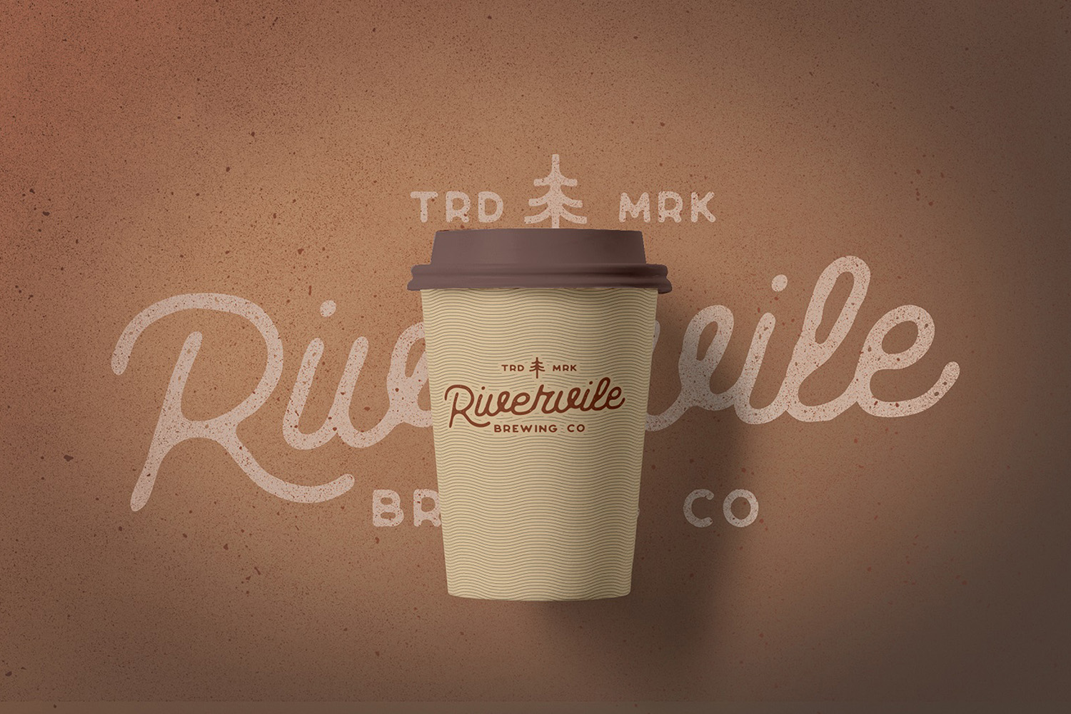 Riverfall Rounded Textured Typeface Ver.1 example image 4