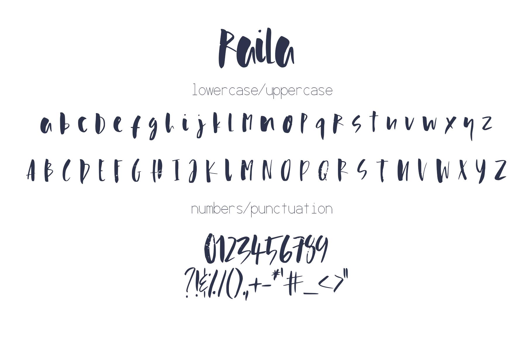 Raila Font example image 9