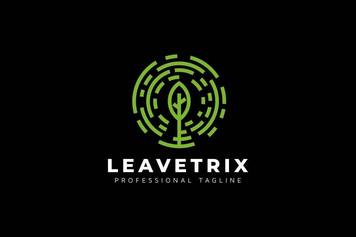 Leaves Circle Tree Logo example image 2