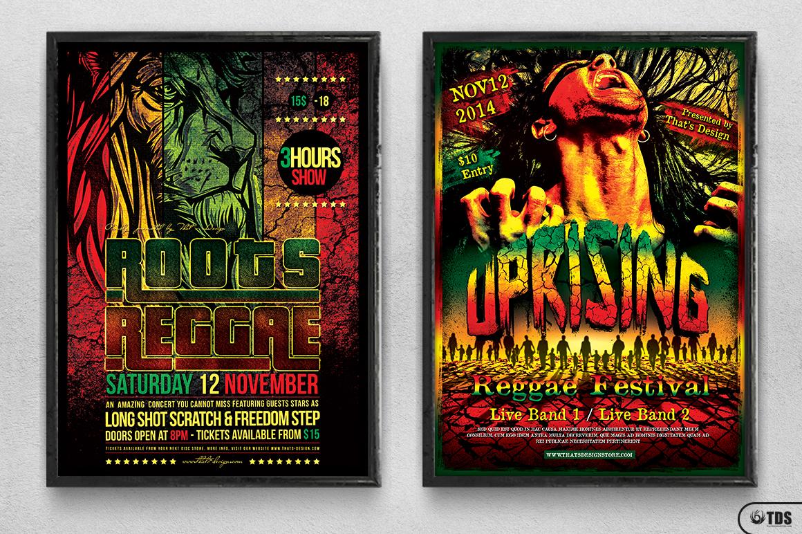 Reggae Flyer Bundle example image 14